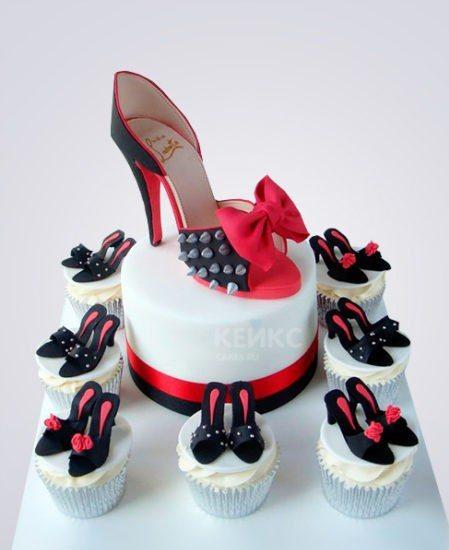 это торт с туфелькой фото вид новосветские судакские