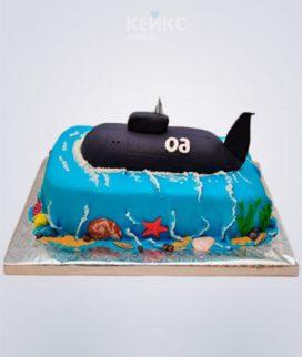 Торт черная подводная лодка Фото