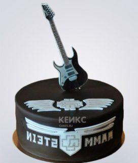 Торт Rammstein 2 Фото