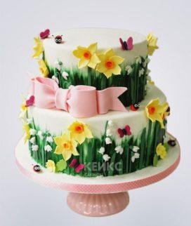 Торт Весенний 13 Фото