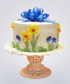Торт Весенний 15 Фото
