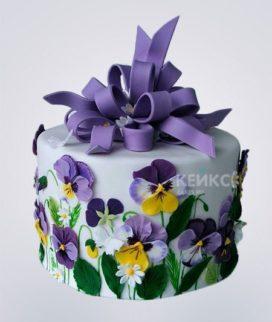 Торт Весенний 2 Фото