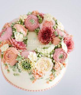 Торт Весенний Фото