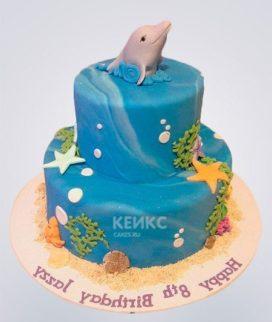 Торт Дельфин 12 Фото