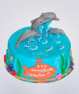 Торт Дельфин 2 Фото