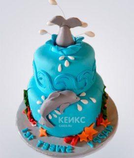 Торт Дельфин 8 Фото