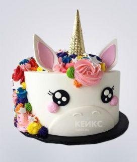 Торт Единорог 19 Фото