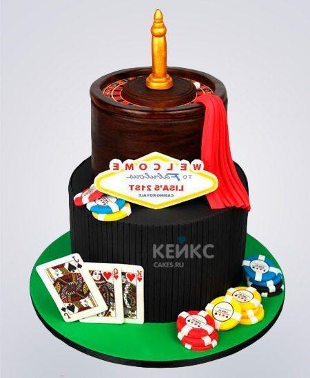 Торт казино на заказ как играть в говно с картами