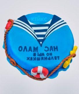 Торт ВМФ 1 Фото