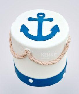 Торт ВМФ 11 Фото