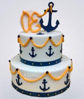 Торт ВМФ 2 Фото