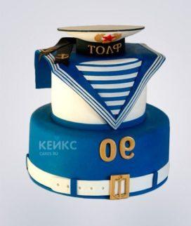 Торт ВМФ Фото
