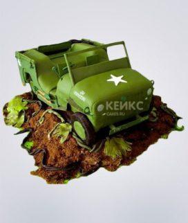 Торт Военная машина 2 Фото