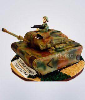 Торт Военная машина 3 Фото
