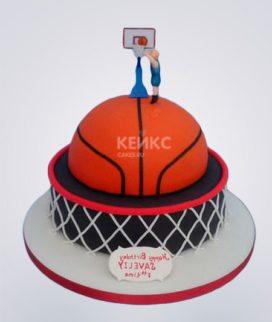 Торт Баскетбольный мяч Фото