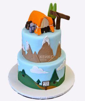Торт для альпиниста-9 Фото