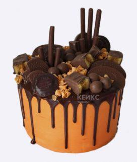 Торт с шоколадным печеньем Фото