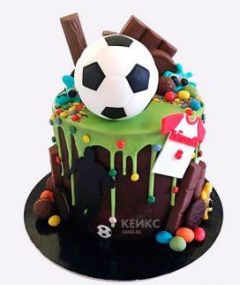 Торт футбол без мастики 15 Фото