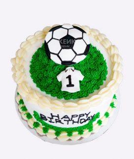Торт футбол без мастики 18 Фото