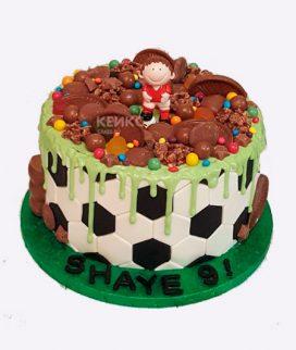 Торт футбол без мастики 3 Фото