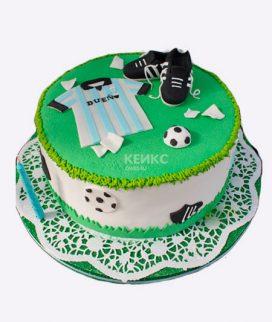Торт футбол без мастики 4 Фото
