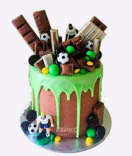 Торт футбол без мастики 5 Фото