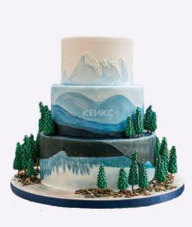 Торт гора-1 Фото