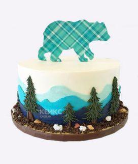 Торт гора-11 Фото