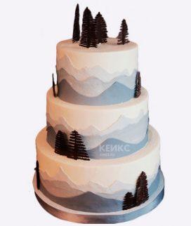 Торт гора-2 Фото
