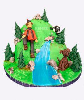 Торт гора Фото