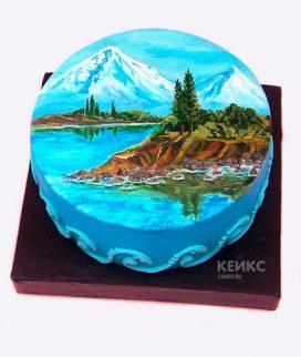 Торт гора-3 Фото