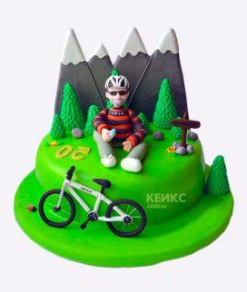 Торт гора-5 Фото