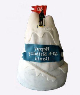 Торт гора-7 Фото