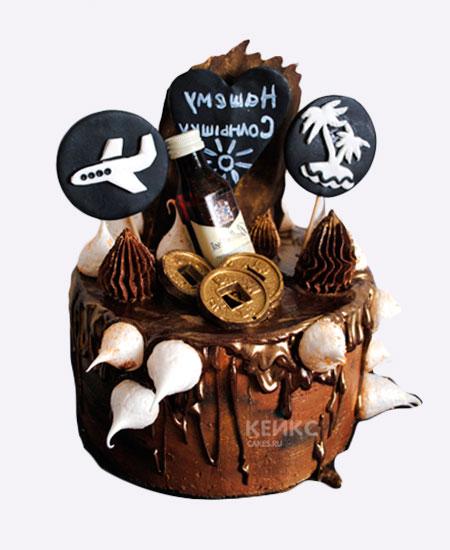 торт на юбилей мужу 35 лет капоши при