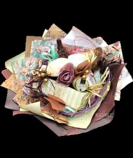 Букет из конфет и чая 8 Фото
