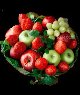 Букет с фруктами и виноградом 7 Фото