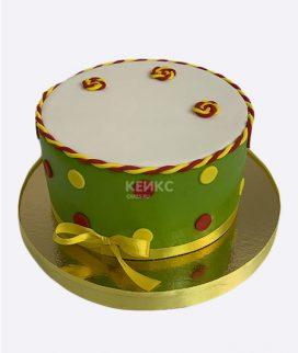 Основа торта с декором 26 Фото