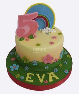 Основа торта с декором 55 Фото