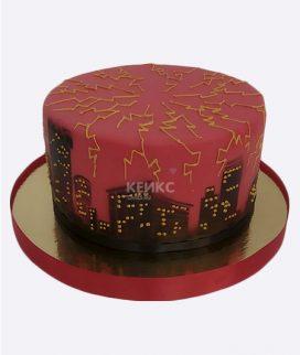 Основа торта с декором 56 Фото