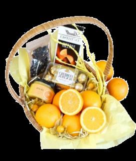 Корзина с апельсинами 4 Фото
