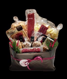 Подарочная корзина мужчине с продуктами Фото